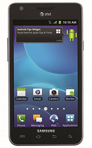 Samsung Galaxy S2 I777 16GB Unlocked GSM Android Cell Phone - Black