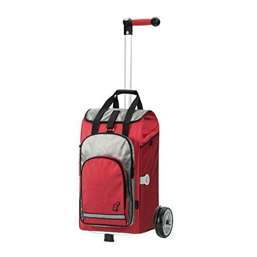 Andersen Shopper Unus und 60 Liter Einkaufstasche Hydro rot mit Kühlfach