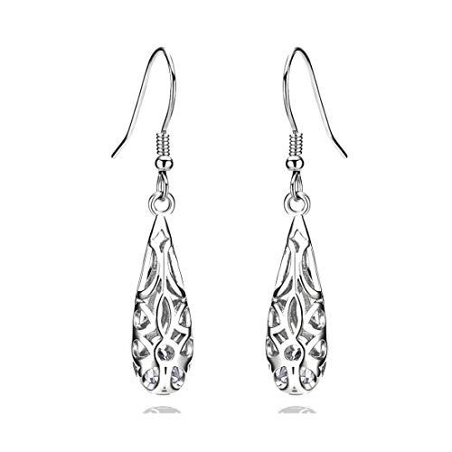 Graceful Swirl Sterling Earrings - 9