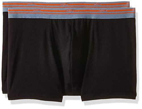 Dim Daily Colors Boxer X2 Bañador, Negro (Noir/Noir 0hz), XX-Large (Talla del Fabricante: 6) (Pack de 2) para Hombre