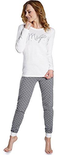 Italian Fashion IF Pijama Camiseta y Pantalones Mujer