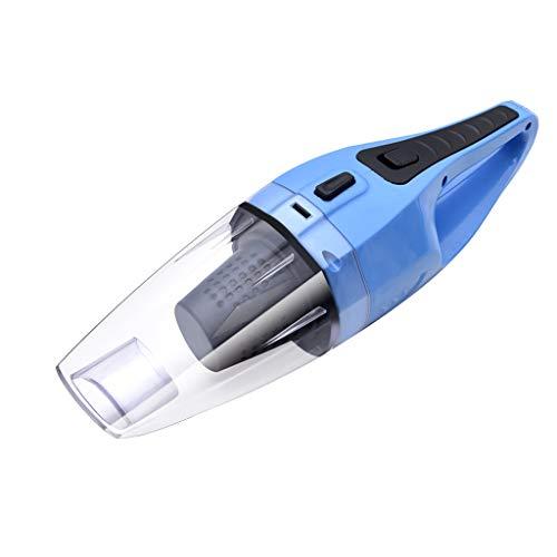 Nosterappou Aspirapolvere Auto per aspirapolvere, l'aspirapolvere per Auto è Piccolo e Comodo (Colore : Blu)