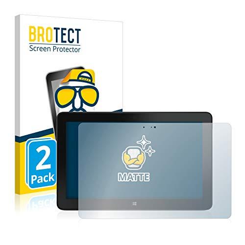 BROTECT 2X Entspiegelungs-Schutzfolie kompatibel mit Dell Venue 11 Pro 7140 (2013-2014) Bildschirmschutz-Folie Matt, Anti-Reflex, Anti-Fingerprint