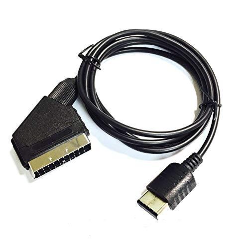 Link-e - Câble peritel RGB compatible avec la console SEGA Dreamcast (non compatible HDMI)