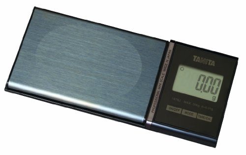Tanita Profesional Mini Escala 1479J con 200 g Capacidad 0,01g Gradación 6 Modos