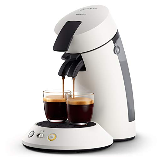 Philips Senseo Original Plus CSA210/10 Kaffeepadmaschine (Kaffeestärkewahl, Kaffee Boost Technologie, aus recyceltem Plastik), weiß