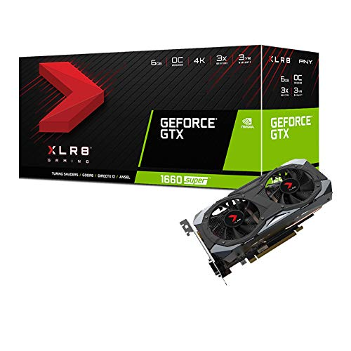 PNY GeForce GTX 1660 Super 6 GB Single Fan Grafikkarte