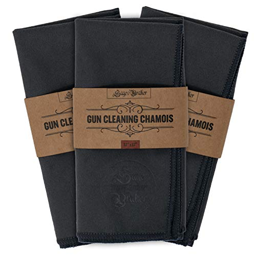 Sage and Braker Mercantile Gun Cleaning Cloth 3-Pack