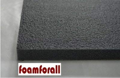 Dämmung, Absorptionsmatte 200x100x1cm, verhautet, selbstklebend aus hochwertigem PU-Schaumstoff