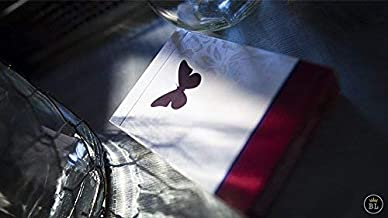 Butterfly Playing Cards Marked Red by Ondrej Psenicka