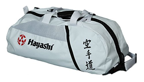 Hayashi Karatetasche umwandelbar weiß, M