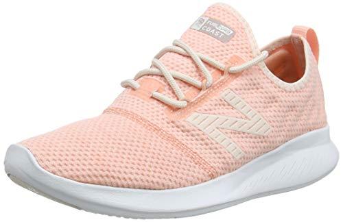 New Balance Damen Coast V4 FuelCore, Pink Mist/White Pe...