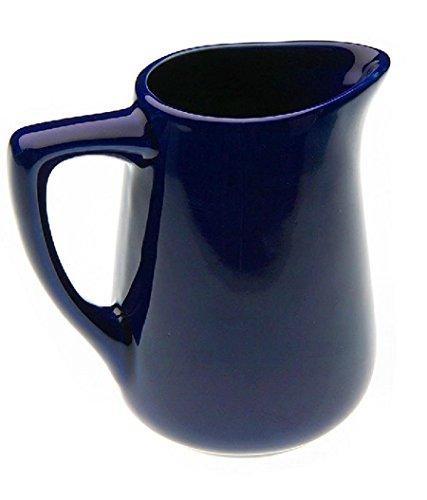 TxT Lattiera Bricco recipiente per il latte in porcellana 230ml azzurra