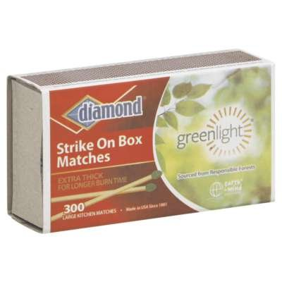Great Features Of Diamond Match Singl 300Ct 1 Ea (Pack Of 24)