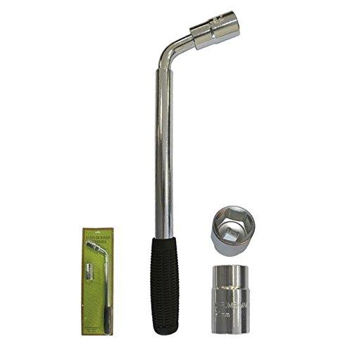 JBM 51416 Llave Extensible de Rueda con Vasos Reversibles