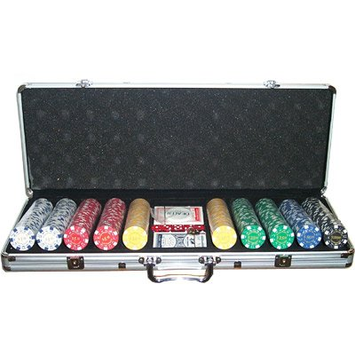 Set completo 500 Fiches 11,5 Gr. Texas Hold'Em