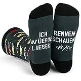 Ich Würde Lieber Ein Lustiges Socken Geschenke für Männer und Frauen - Rennen
