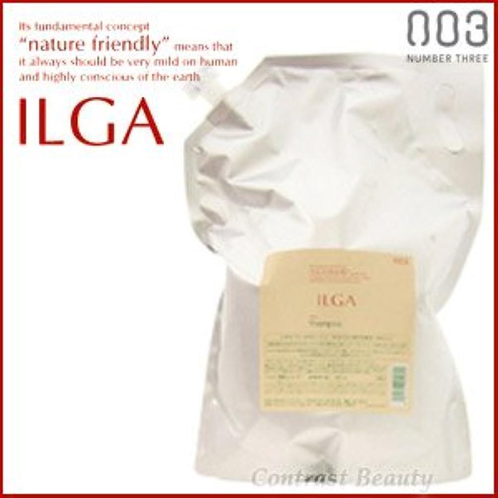 おなかがすいた吹雪投げる【X3個セット】 ナンバースリー ILGA/イルガ 薬用シャンプー 3L 詰替え用 (医薬部外品)