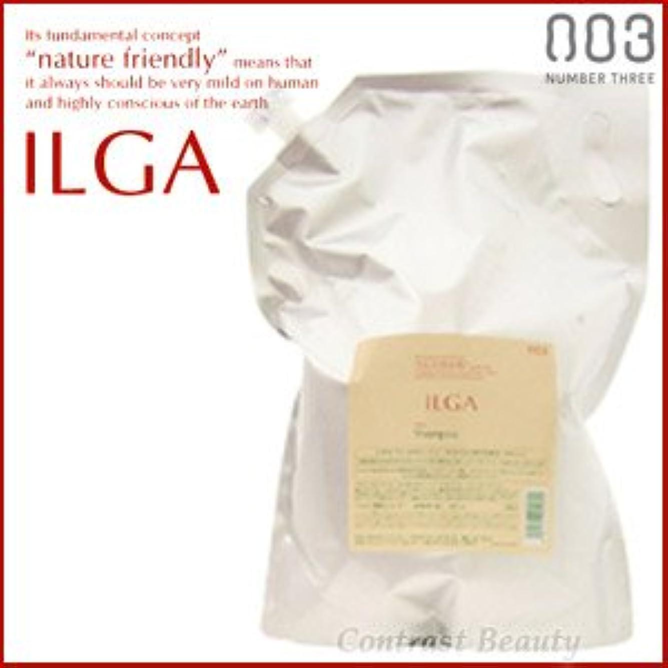 裏切る類似性死すべき【X2個セット】 ナンバースリー ILGA/イルガ 薬用シャンプー 3L 詰替え用 (医薬部外品)