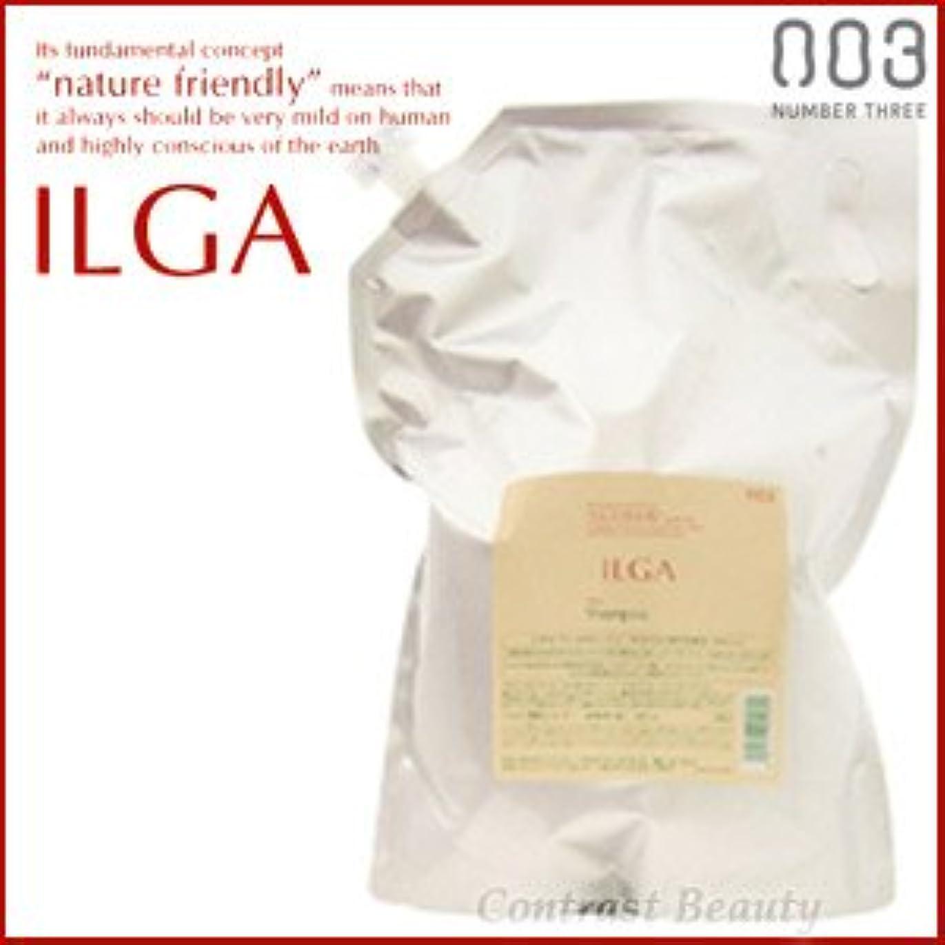 クーポンキッチンみなす【X3個セット】 ナンバースリー ILGA/イルガ 薬用シャンプー 3L 詰替え用 (医薬部外品)