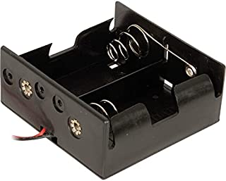 PH9220 Double D Battery Holder Side by Side Connection Wires: 150Mm Connection Wires: 150Mm,