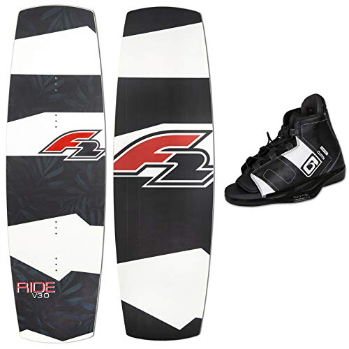 F2 Wakeboard Ride V3.0 141 cm 2019 + Obrien Clutch Wake BINDUNG 44,5-48,5 EU