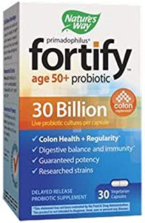 nature's way fortify probiotic