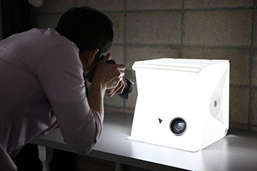 Foldio 2 Estudio portátil todo en uno, 38 x 38 x 38 cm, blanco
