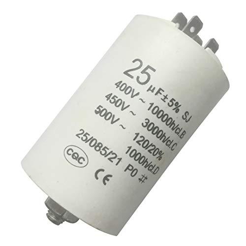 NO LOGO CCH-DRS, 1pc Universal-25uf Kondensator CBB60 Motor Run-Kondensatoren Wasserpumpe Start Capasitor 450V AC-Motoren