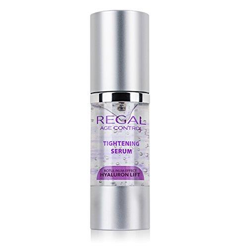 Regal Age Control - Suero reafirmante facial antiarrugas, Botox Effect, Hyaluron Lift