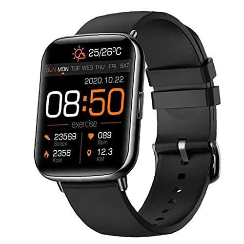 Pulsera inteligente X27, rastreador de fitness con oxígeno de sangre, presión arterial, monitor de frecuencia cardíaca, piezas de comunicación de red negra