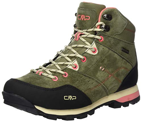 CMP – F.lli Campagnolo Damen Alcor Mid Wmn Shoes Wp Trekking-& Wanderstiefel, Grün (KAKI F854), 36 EU