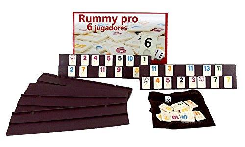 Juego Rummikub 6 jugadores. 106 fichas plastico macizo