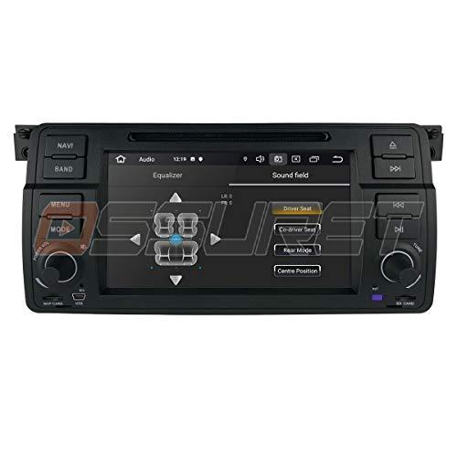 Android 10 Auto GPS Navigation Bluetooth Fahrzeug Stereo mit 7 Zoll Touchscreen für BMW E46 Unterstützung Spiegel-Link-Radio WiFi / 4G Lenkradsteuerung