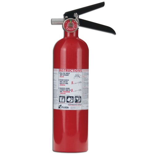 Kidde 466423 Fire Control Pro 2.5-Pound Fire Extinguisher 1-A, 10-B:C