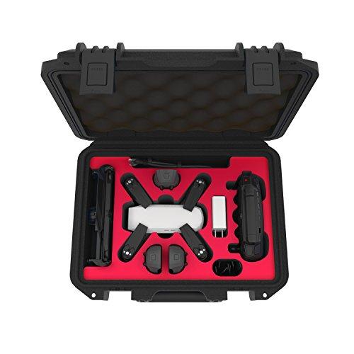 Adam Elements adnad acc901sbk Aluminio Transporte de maletín Protector, Compatible con dji Spark; Fly More Combo; Zubehör; Drohne