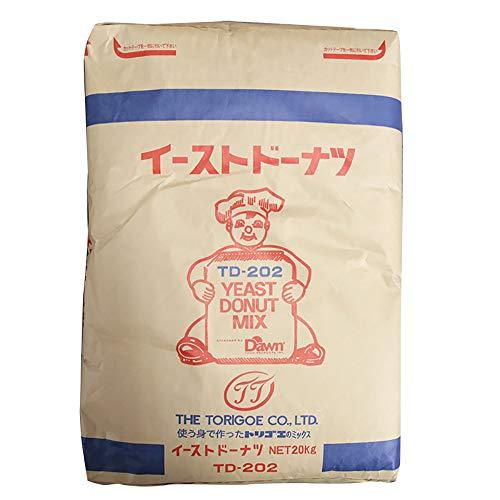 【業務用】 鳥越製粉 TD202 イースト ドーナツ ミックス 20kg ミックス粉