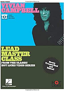 Vivian Campbell- Lead Master Class: Instructional Book with Online Video Lessons