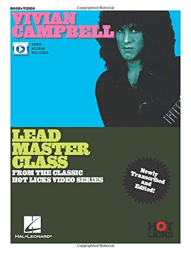 Lead Master Class Instructional Book with Online Video Lessons. Gu