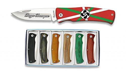 Albainox Messerset Pays Basque Motiv 6 Taschenmesser Freizeitmesser Geschenkset