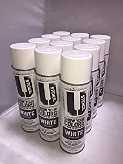 White Aerosol Lawn/Marking Paint 12 Pack