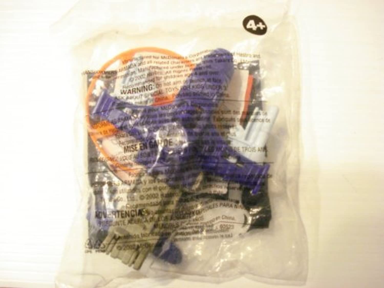 McDonalds Happy Meal Toy  Transformers  Cyclonus,  4, 2002