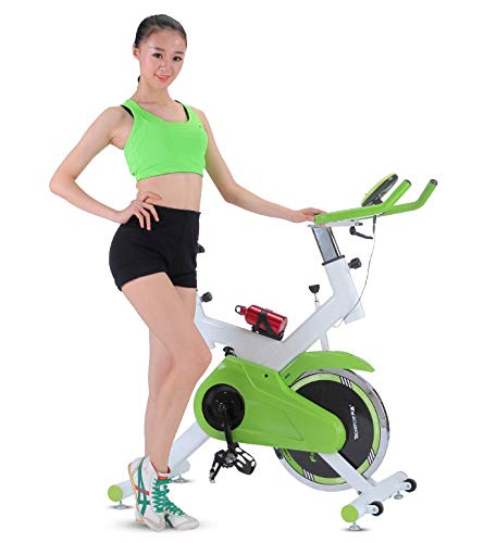 Read About LHY SAVE Exercise Bike for Home,Indoor Cycling Bikes,F-Bike with Hand Pulse Sensors,with ...