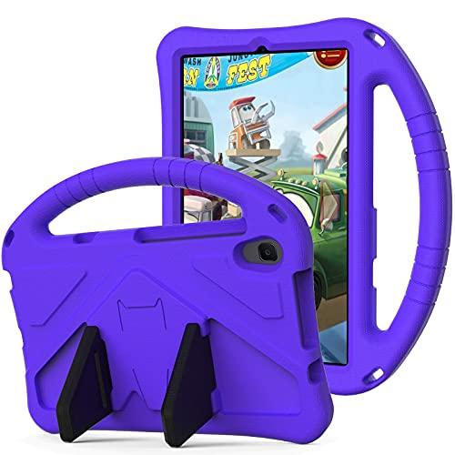 YIU Funda para tablet y PC, funda para niños, para Huawei Mediapad M5 Lite de 8 pulgadas, para niños Eva a prueba de golpes, ligera, resistente a golpes, con asa grande y resistente