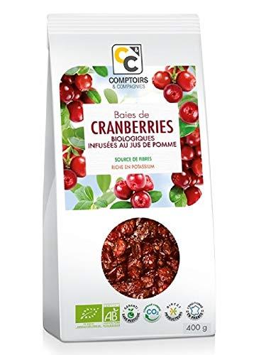 Comptoirs et Compagnies Bio Cranberries mit Bio-Apfelsaft, 400 g
