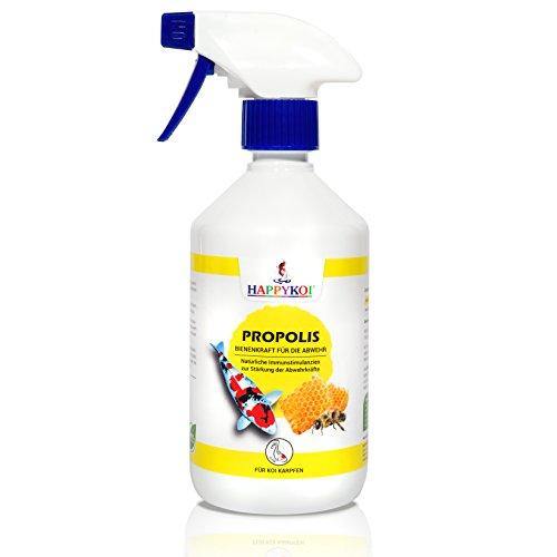 HAPPYKOI® PROPOLIS Complément alimentaire liquide pour carpes koï (500 ml)