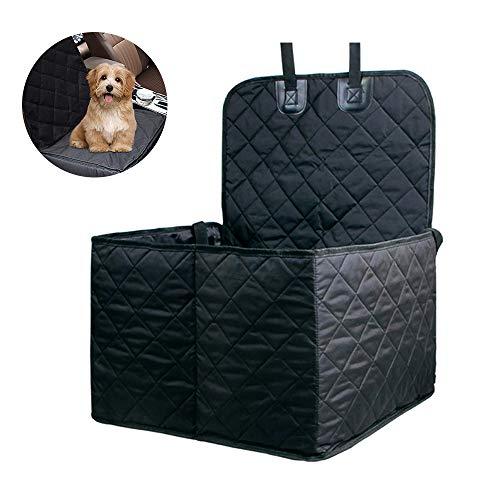 Tie langxian Haustier-Autositz, faltbar, wasserdicht, für Hunde und Katzen,Autositz für Haustier Hund Katze Pet Hund Oxford Tuch Auto Vordersitzbezug Schutz matte