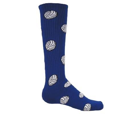 Red Lion Volleyball Knee High Sock (Royal Blue - Medium)