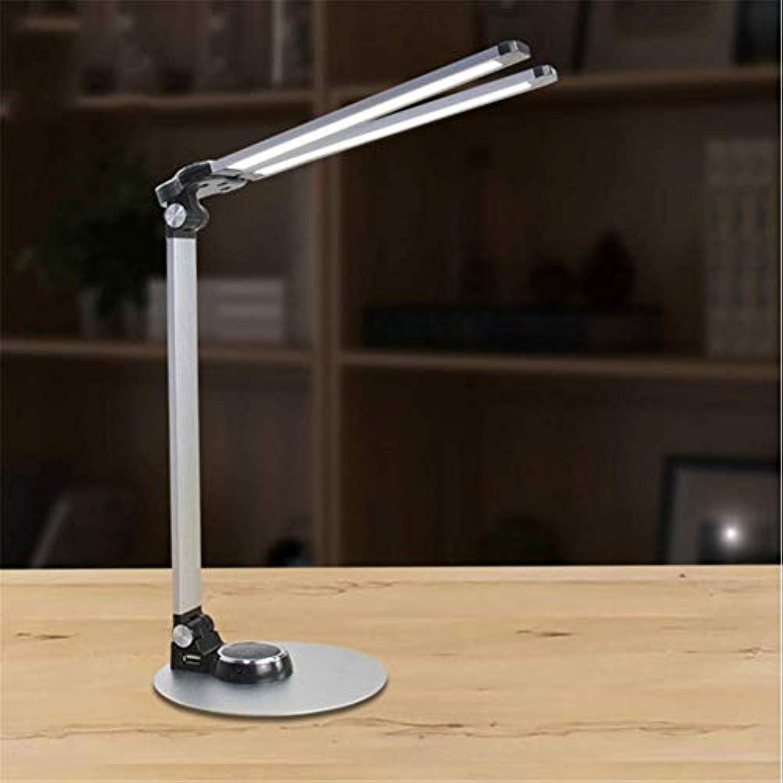 Schreibtischlampe Kreative Folding Touch LED Augenschutz Tischlampe USB Lade Studentenwohnheim Lernen Lesen Schreibtischlampe