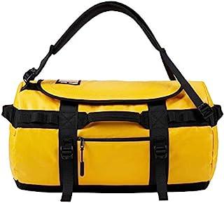 KALIDI Reisetasche Transporttasche Duffle Bag Rucksack wasserfeste Sporttasche 50L/70L/100L Gelb, 90L